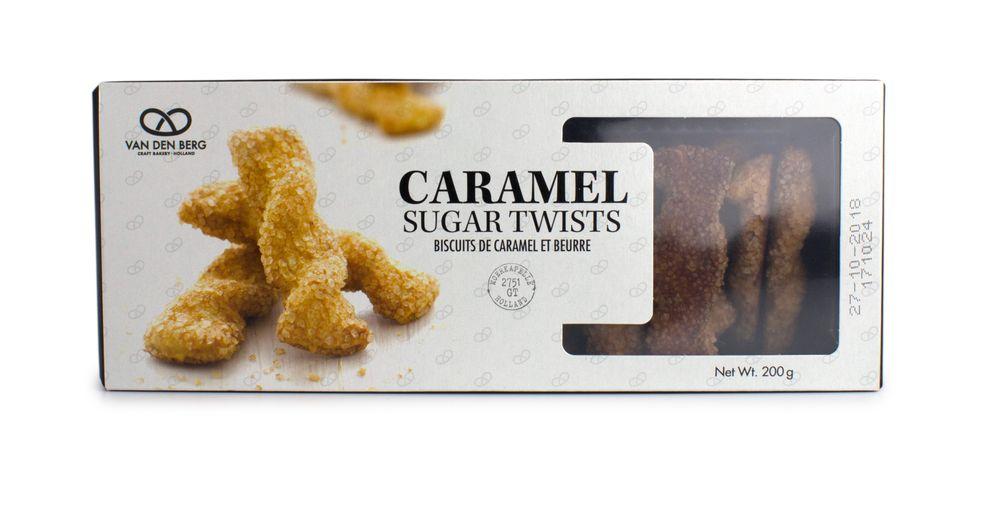 Caramel Sugar Twists