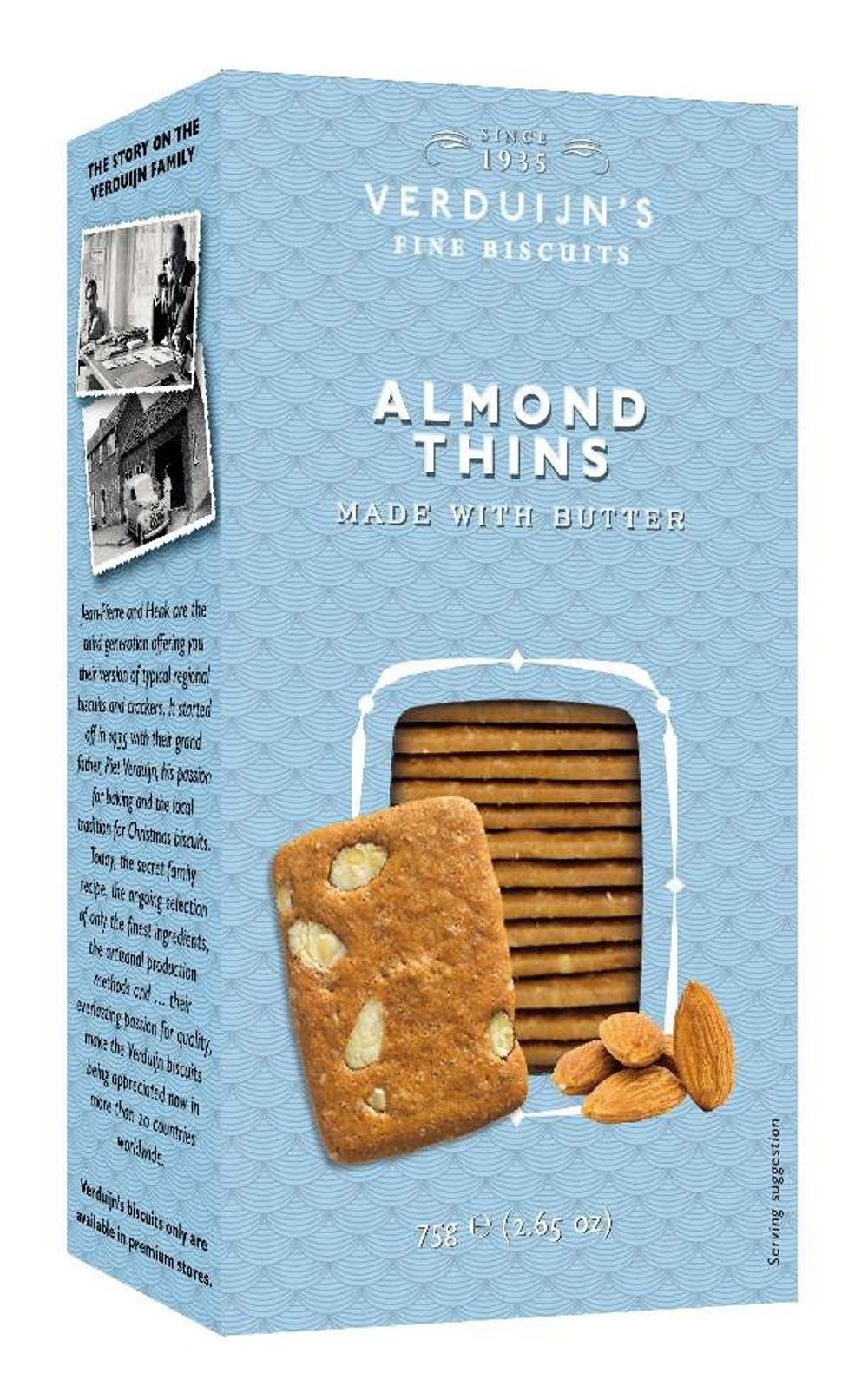 Butter Biscuits with Almonds