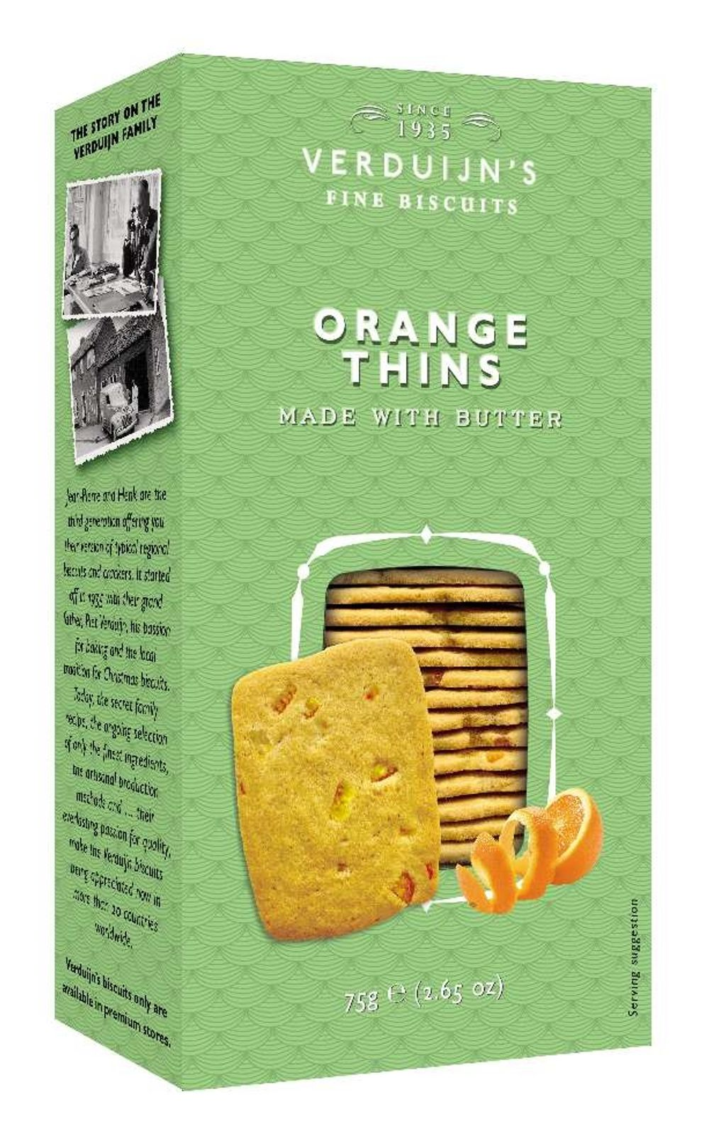 Butter Biscuits with Orange