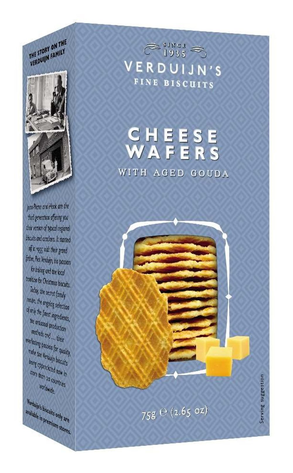 Savoury Cheese Wafers