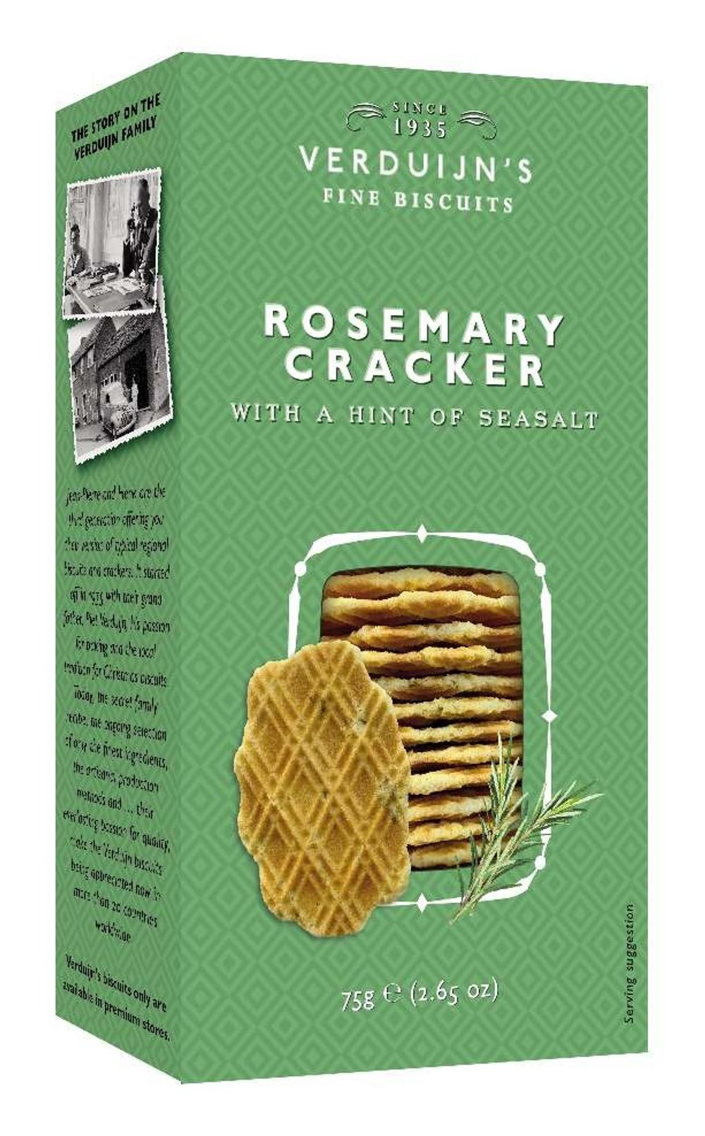 Wafers with Rosemary