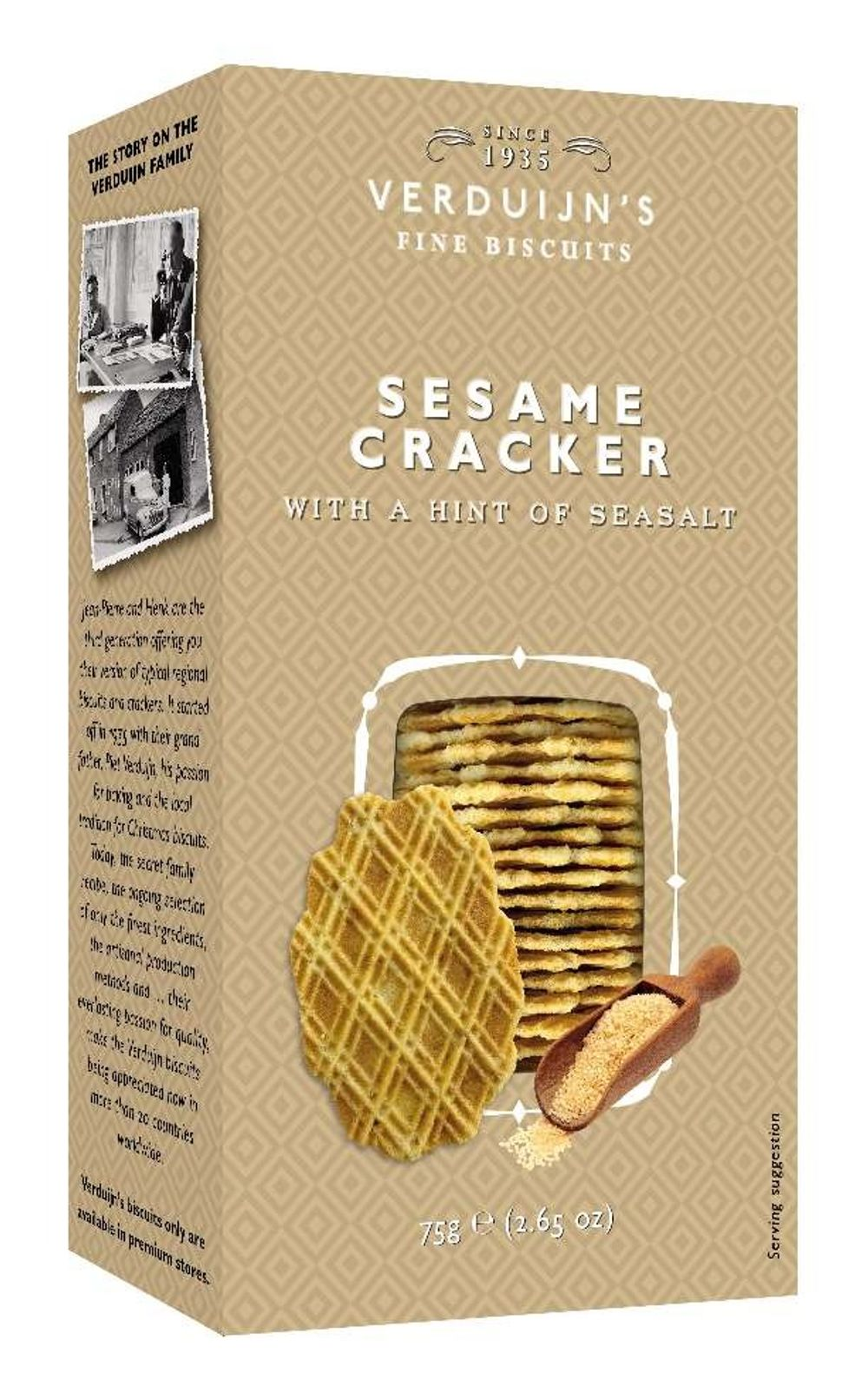 Wafers with Sesame
