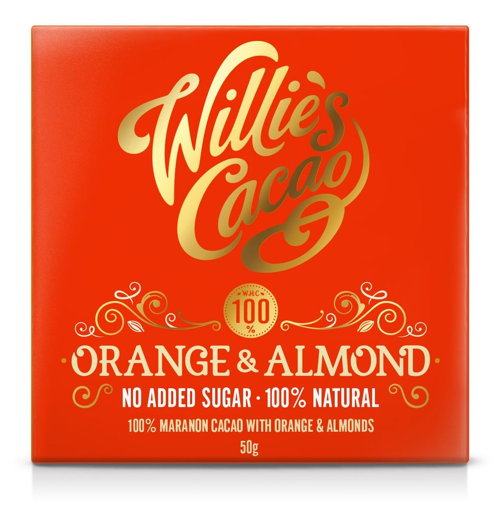 Orange & Almond 100% Bar