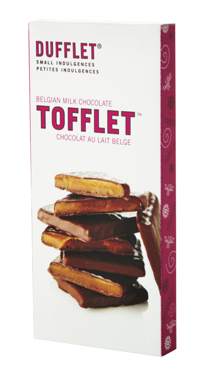 Tofflet: Belgian Milk Chocolate