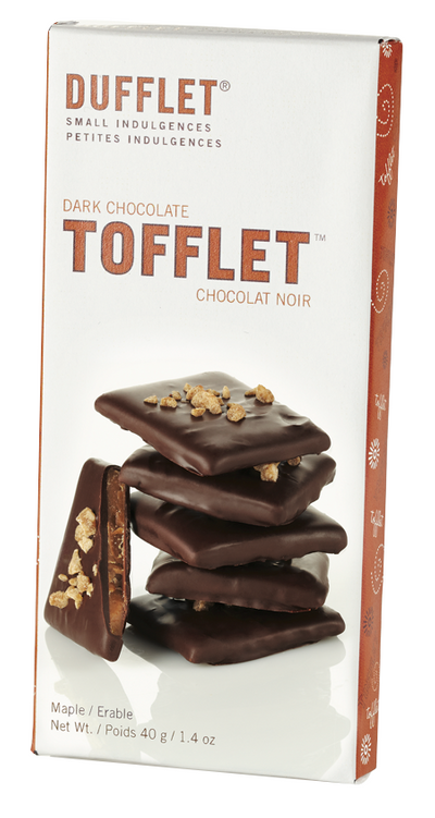 Tofflet: Dark Chocolate Maple