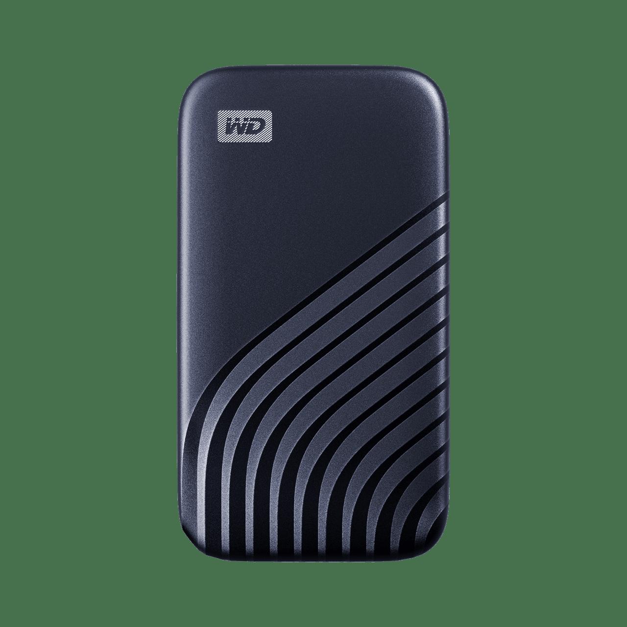 WD MY PASSPORT™ SSD 500GB BLUE [WDBAGF5000ABL-WESN]