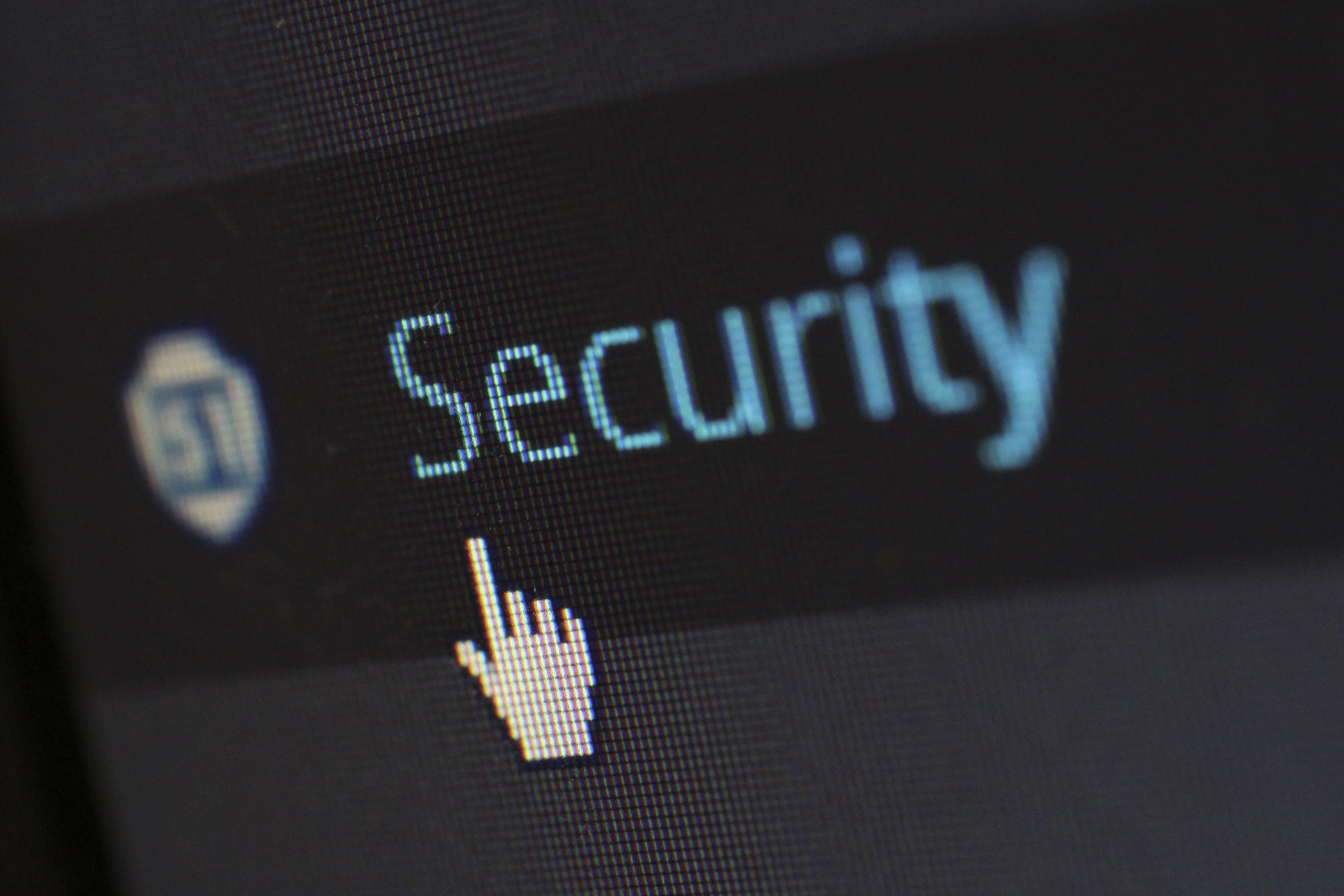 Pantalla Seguridad informatica