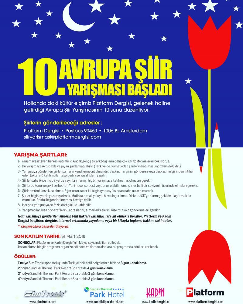 10. Avrupa Şiir Yarışması