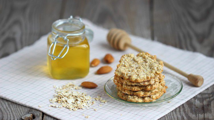 honey-oatmeal-cookies