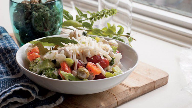 cornucopian-vegetable-salad-seafood-ragout-oregano