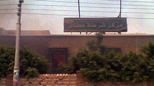 """""""النيابة"""" توصي بإعادة محاكمة المتهمين بحرق مركز شرطة مطاي"""