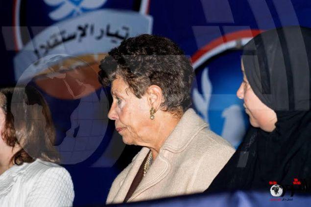 بالصور | مؤتمر نساء تيار الاستقلال لدعم الشرطة و الجيش