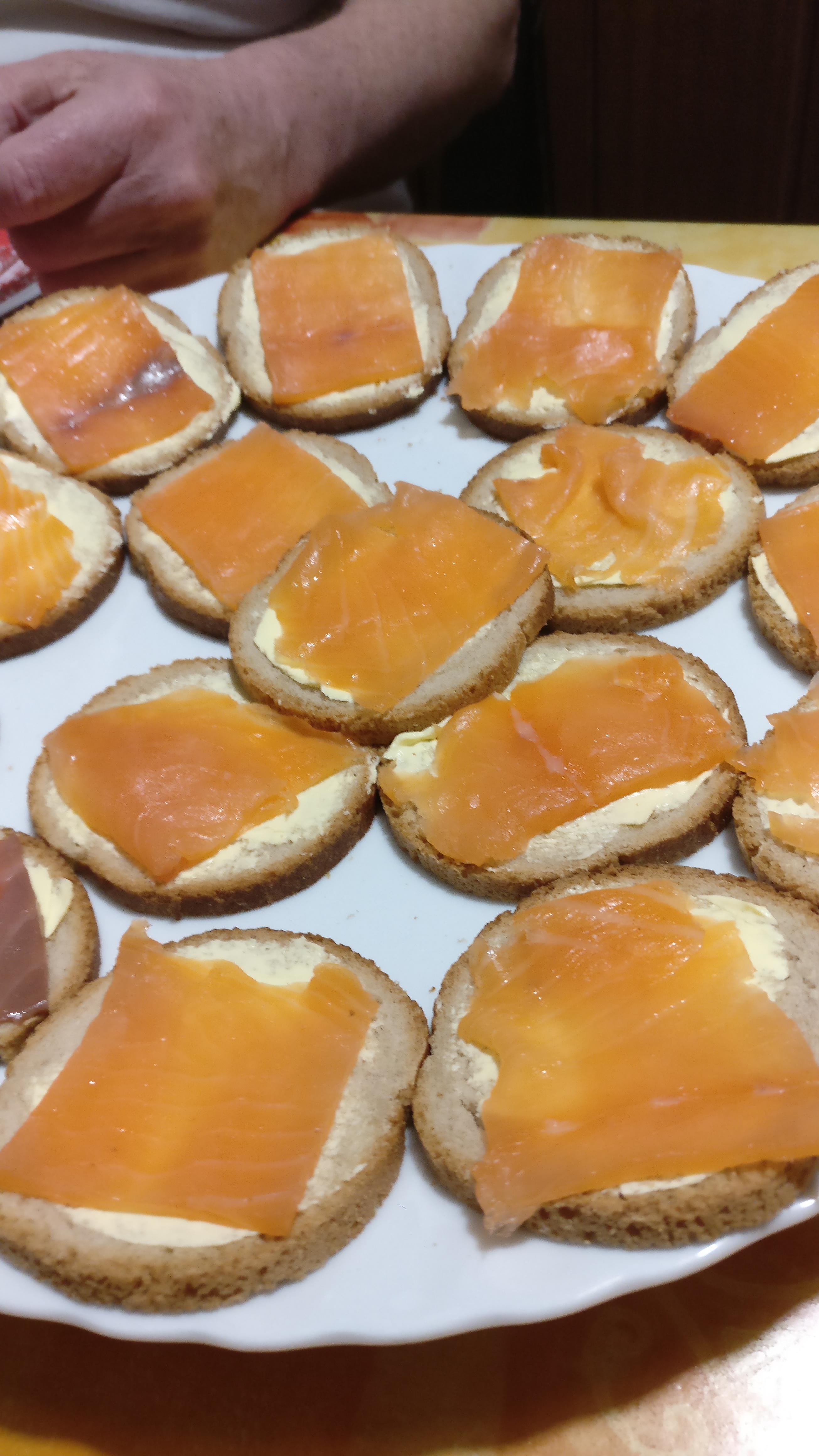 Photo du produit Toast au saumon