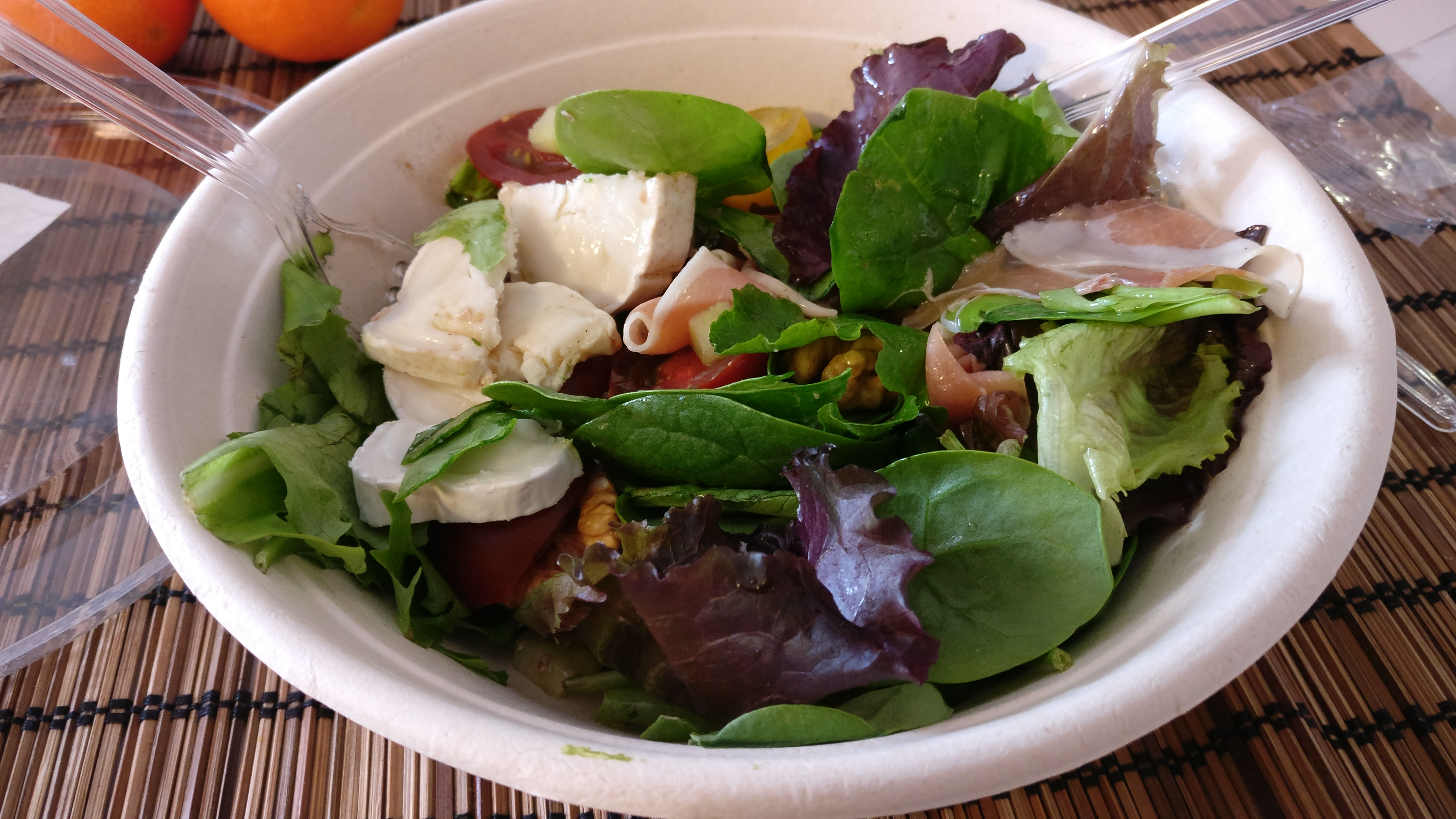 Photo du produit Salade jambon cru