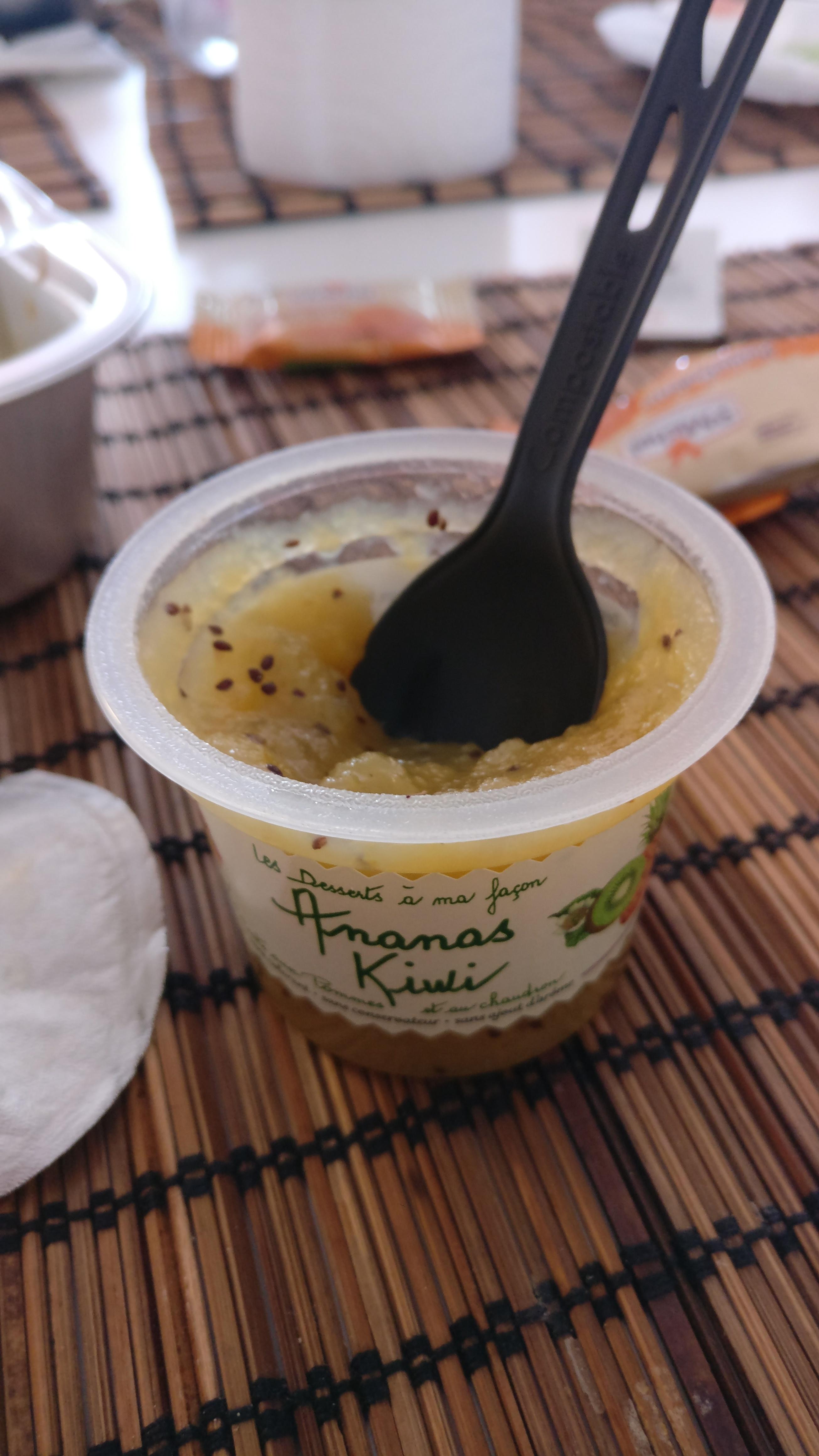Photo du produit Compote pomme ananas kiwi