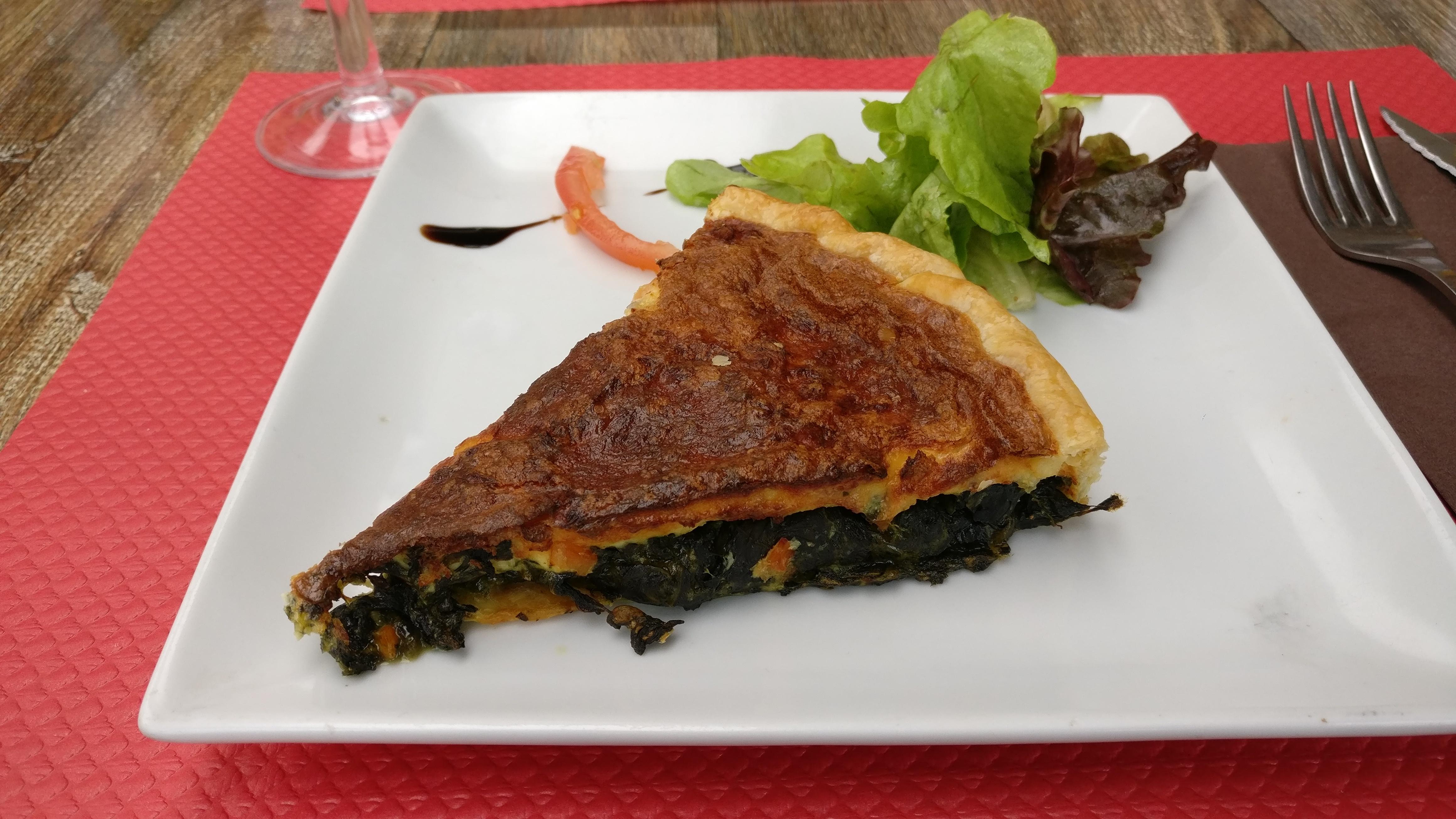 Photo du produit Tarte saumon épinards