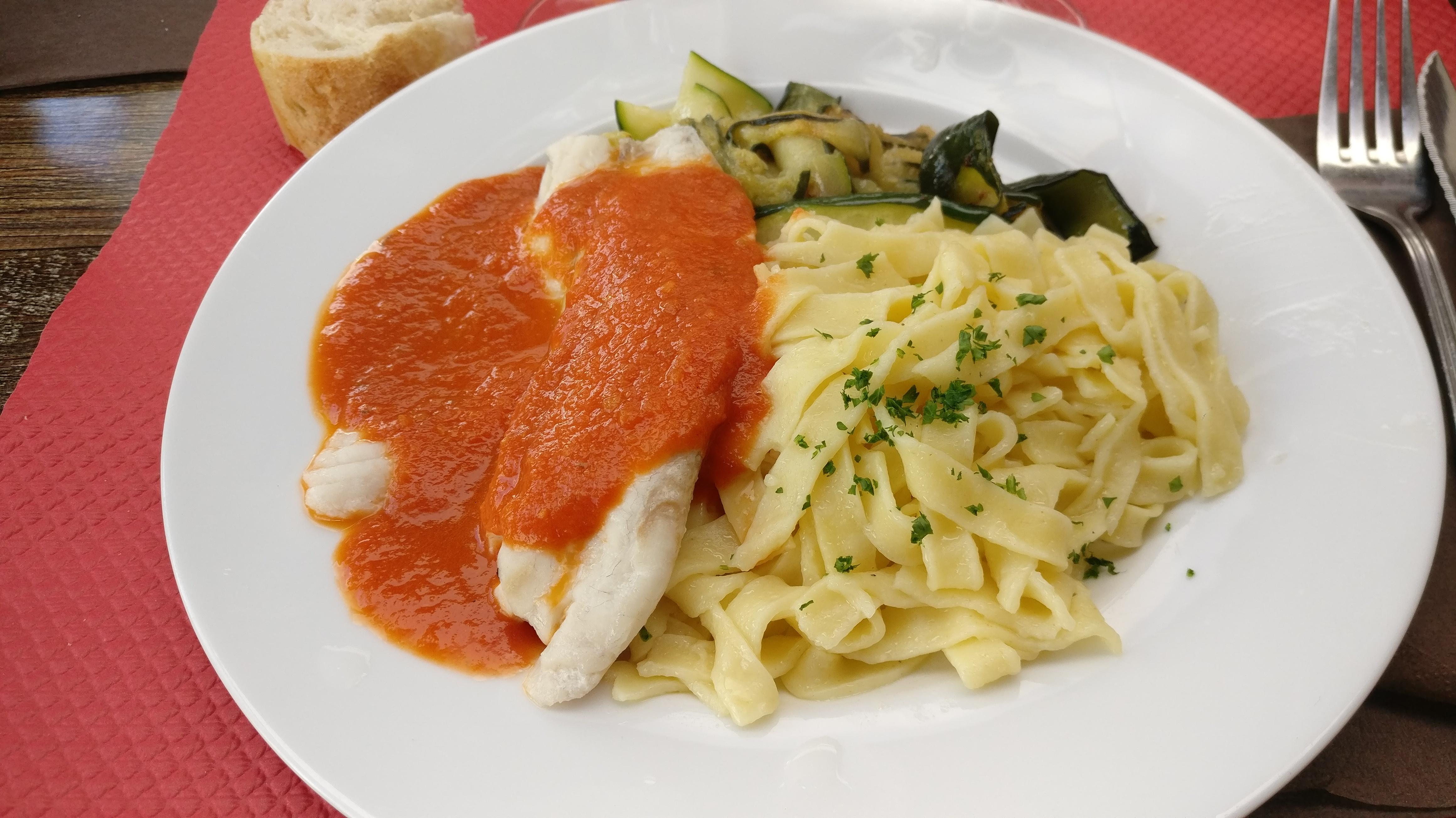 Photo du produit Talapia sauce arrabiata