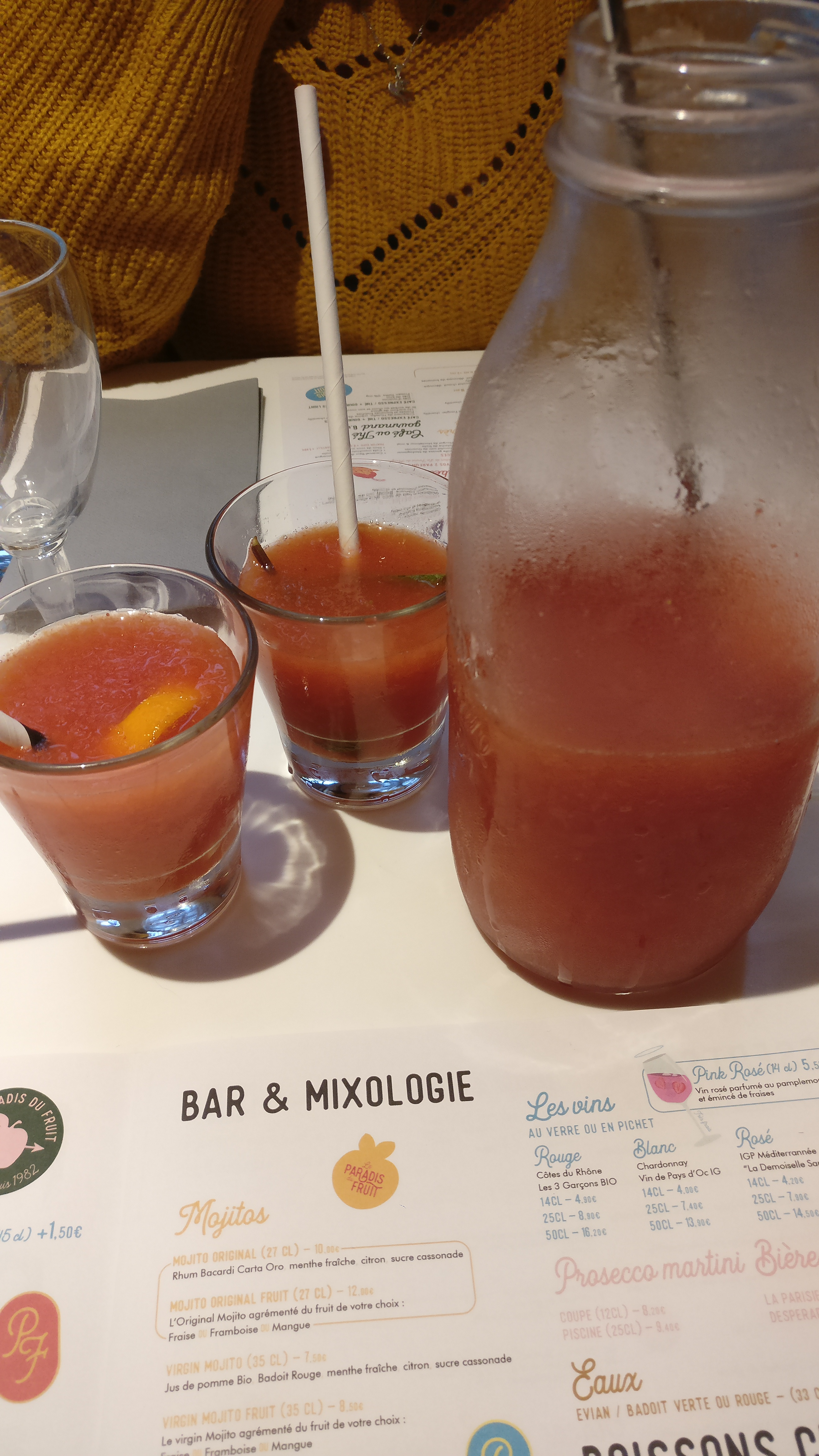 Photo du produit Limonade Rouge Orangeade [Restaurant - Le Paradis du Fruit] prise par Benbb96