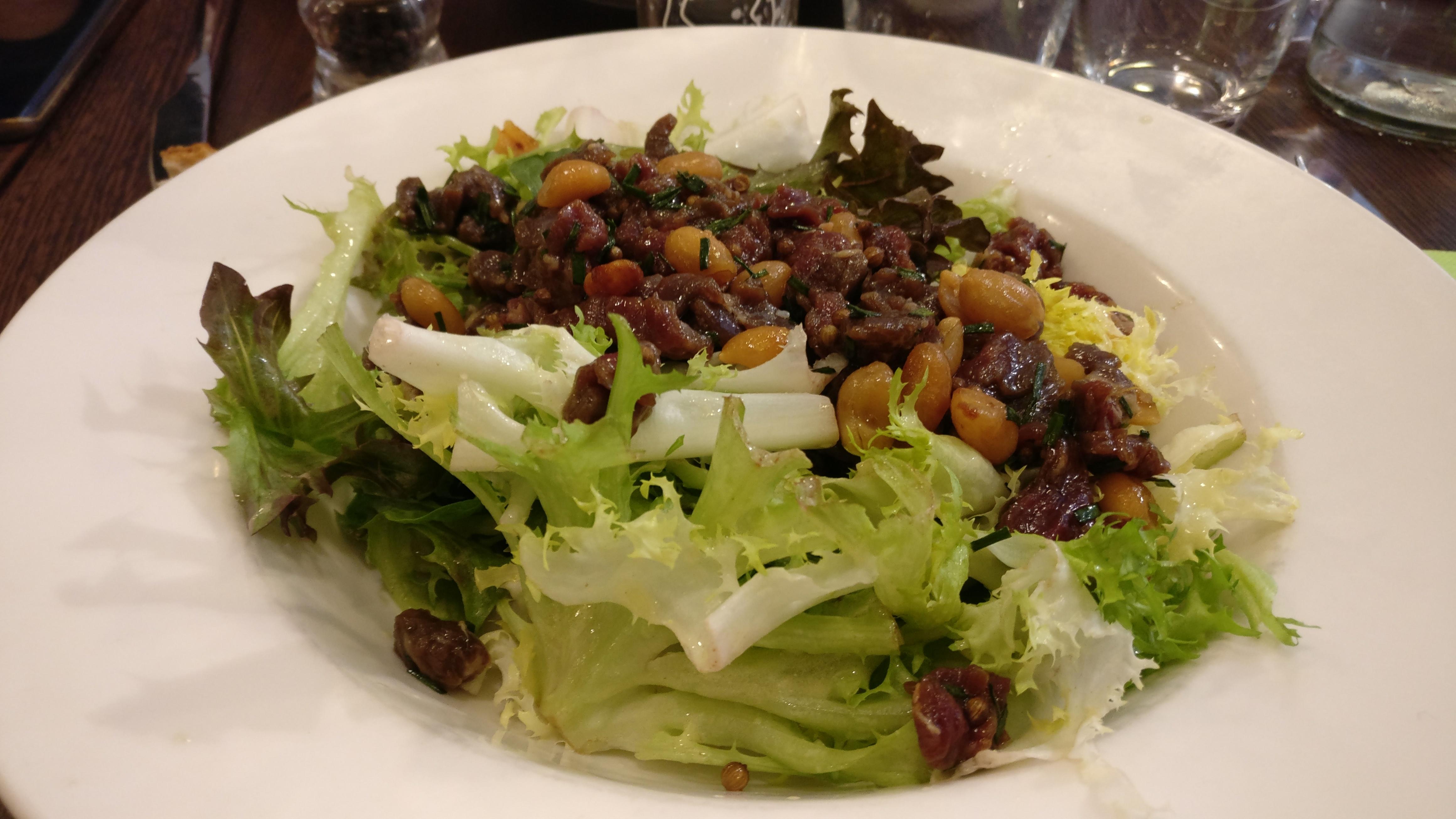 Photo du produit Grande Salade de Bœuf à l'Asiatique