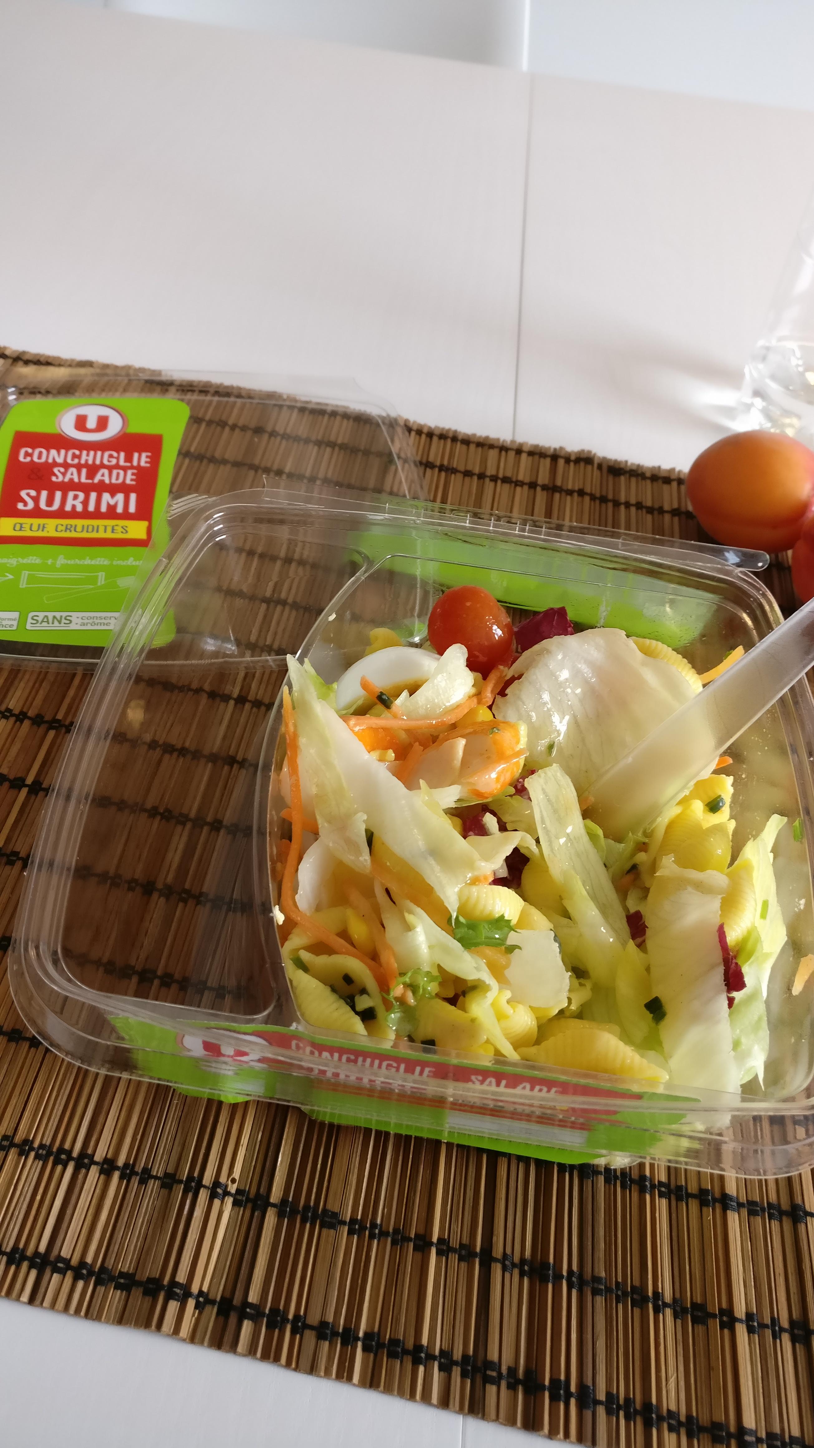 Photo du produit Salade pâtes et surimi
