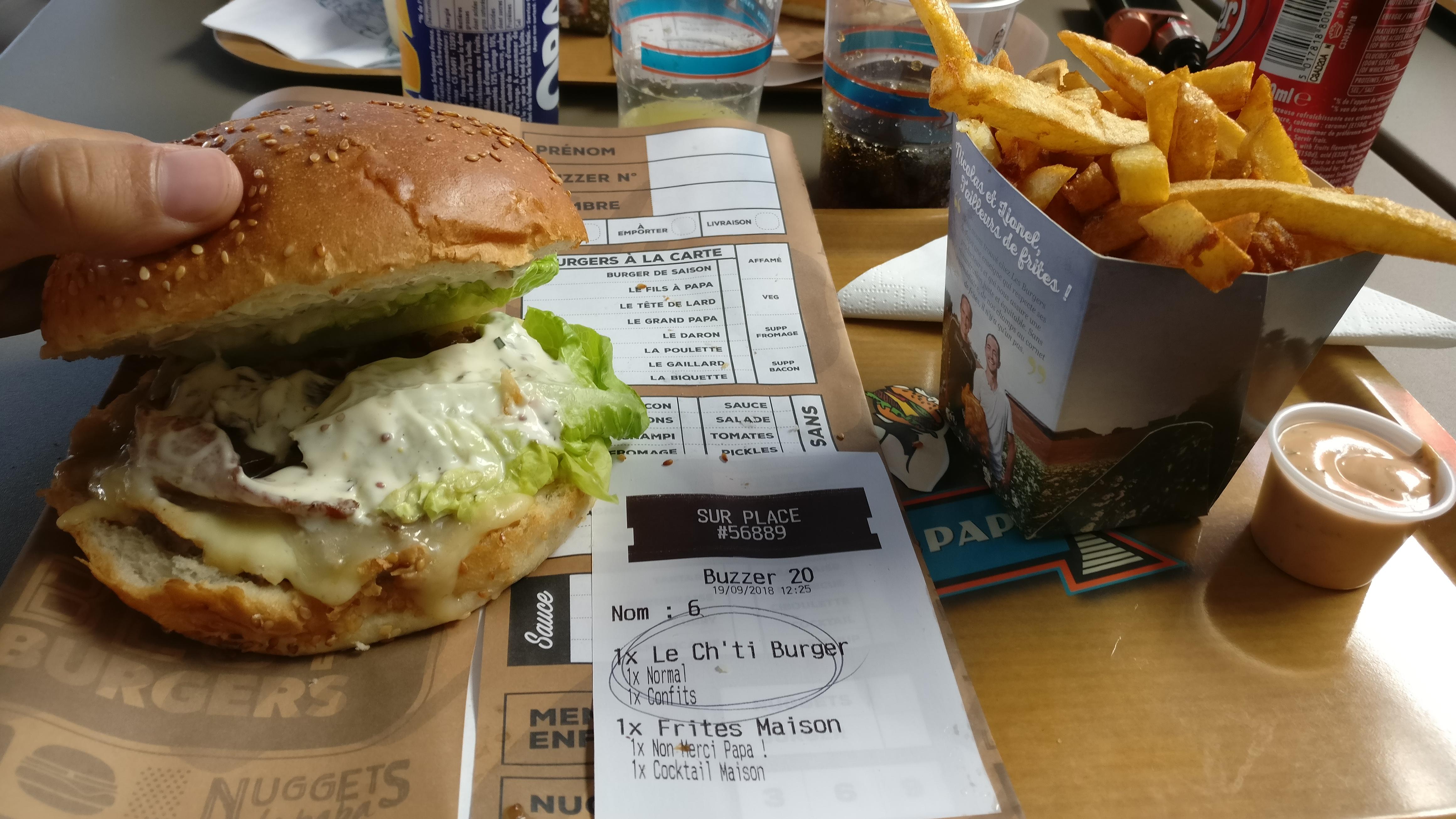 Photo du produit Ch'ti Burger