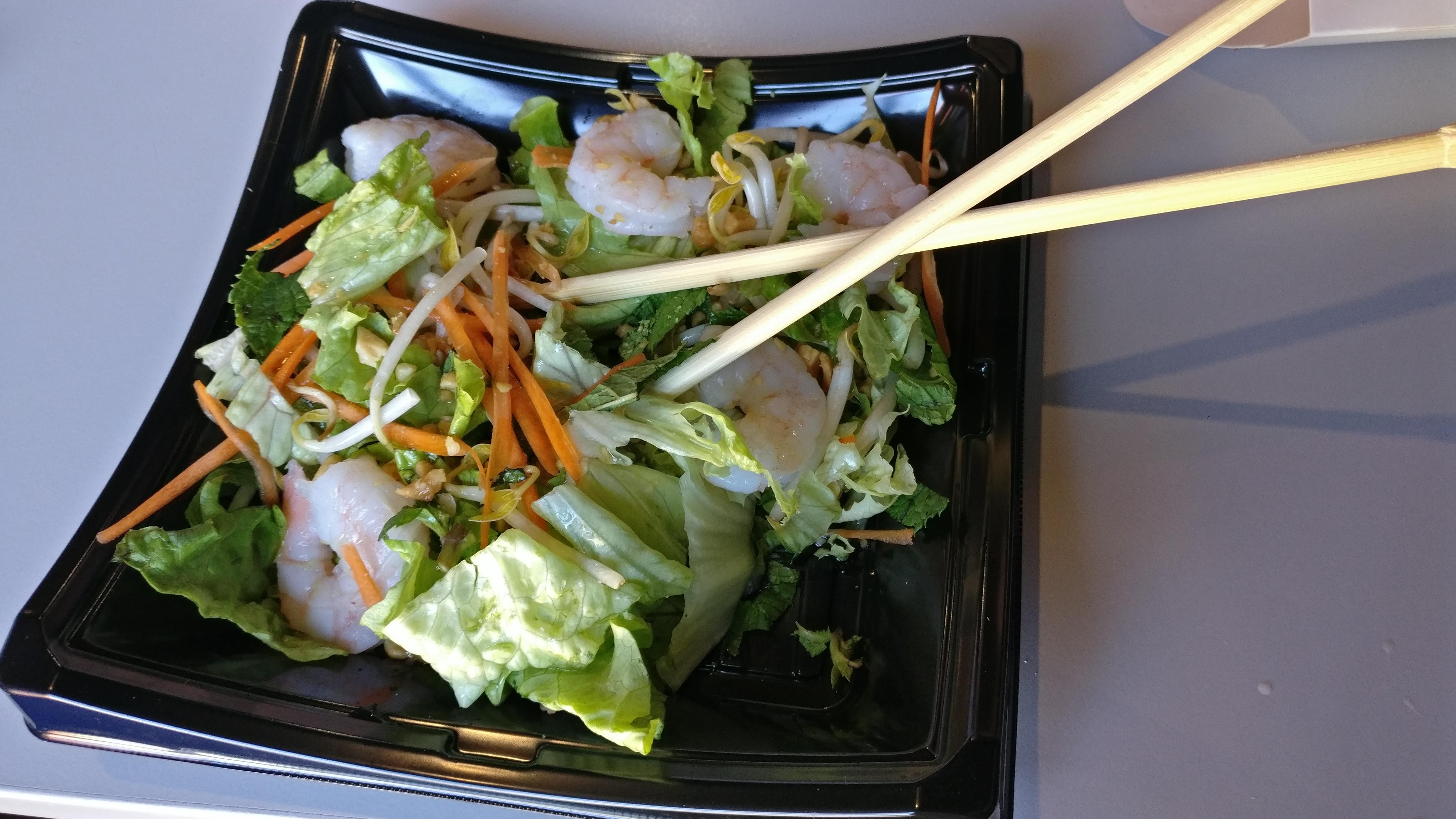 Photo du produit Salade thaï crevettes