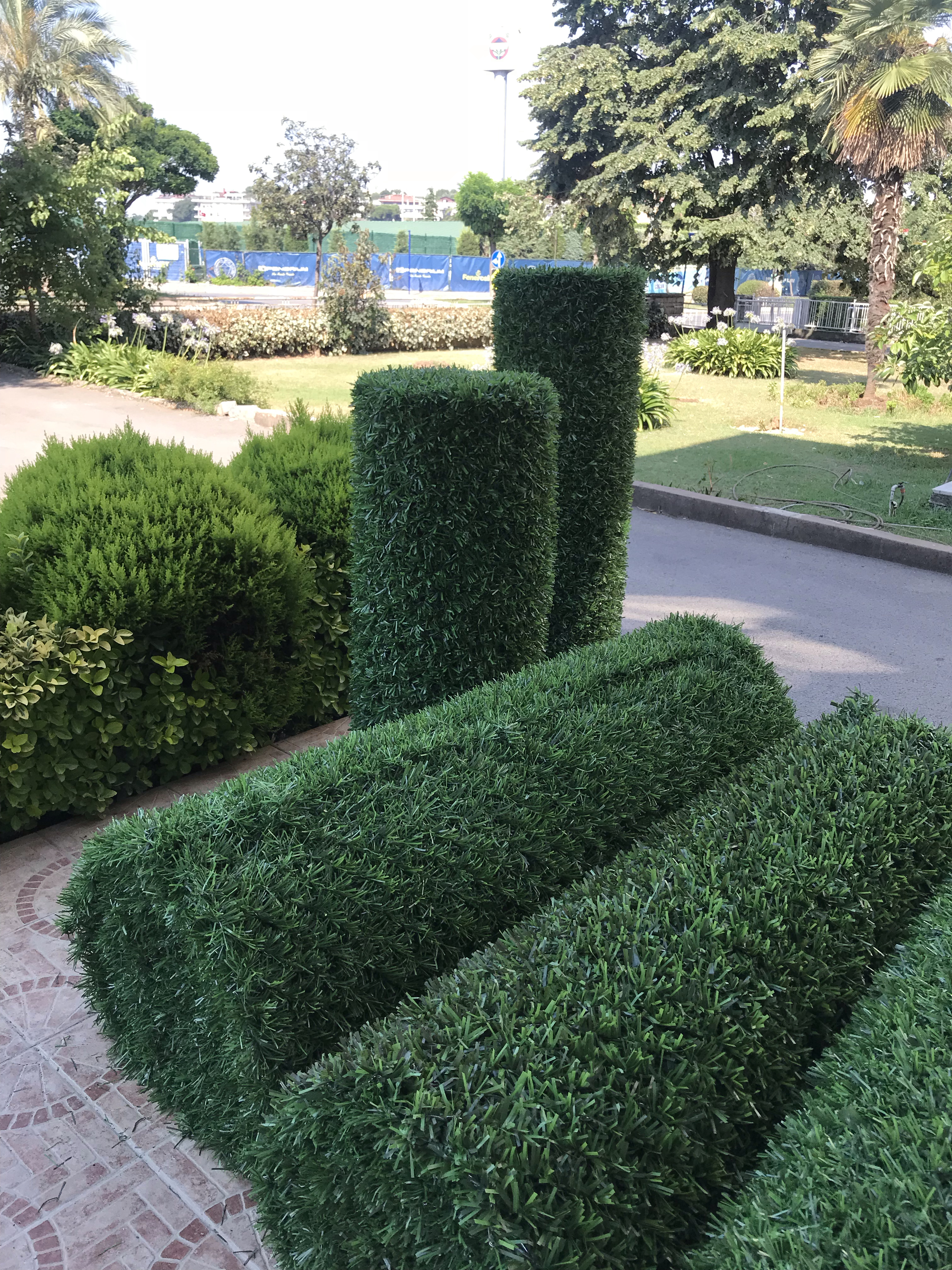 5 yıl garantili yanmaz solmaz paslanmaz çim çit Anadolu çim çitten istediğiniz ölçülerde çim çit