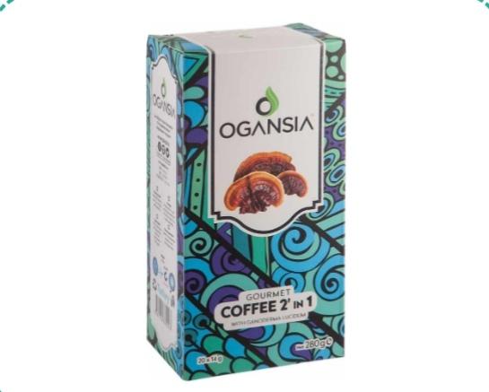 COFFEE 2 IN 1 Reishi mantarı ekstresi ile kahve, sütsüz krema ile yumuşatıldı, her damak tadına uygun bir fincan dolusu mutluluğa dönüştü...