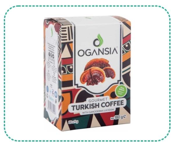 TURKISH COFFEE Türk kahvesi ve reishi mantarı ekstresinin birleşimiyle ortaya çıkan enfes lezzetin fincanlarda bırakacağı telve keyfini, tatlandırılmış haliyle denemek isteyenler için...