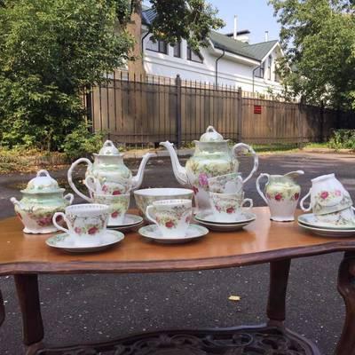 Антикварный сервиз чайный начало 20 вв в стиле Винтаж в наличии