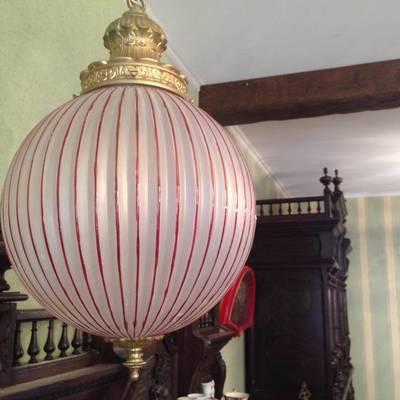 Люстра-шар стекло в стиле Эклектика в наличии, Голландия, середина 20 века