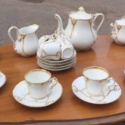 Чайный фарфоровый сервиз в наличии