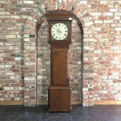 Антикварные напольные часы в стиле Ренессанс, Англия, начало 20 века