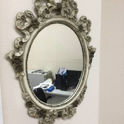 Зеркало настенное в стиле Барокко в наличии, Бельгия, конец 20 века