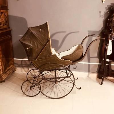 Рикша антик в стиле Ар-нуво, Франция, конец 19 века