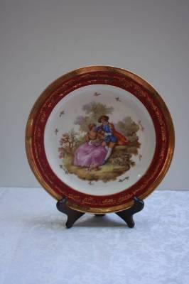 Декоративная тарелка Лимож. в наличии