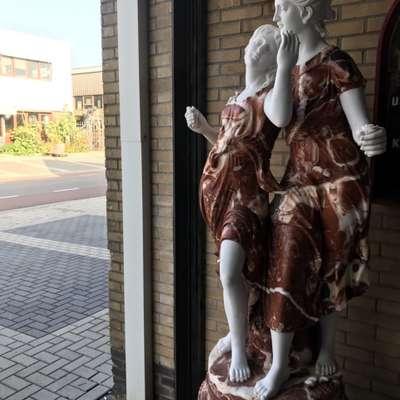 Статуя в стиле Барокко Бельгия, начало 20 века