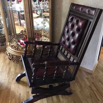 Кабинетное Кресло в стиле Честерфилд Англия, конец 20 века