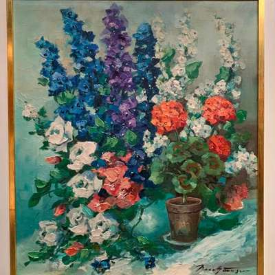 Живопись. в стиле Импрессионизм, Германия, середина 20 века