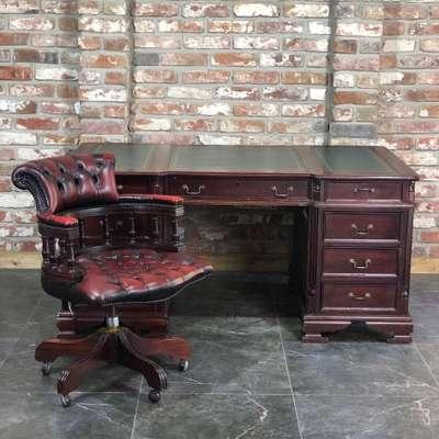 Письменный стол и кресло в стиле Регентство, Франция, начало 20 века