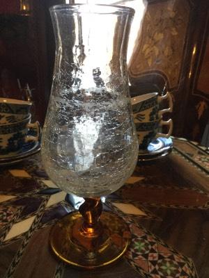 Винтажная ваза бокал в наличии