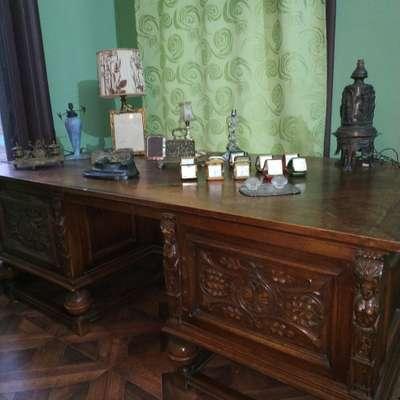 Стол письменный в стиле Бретонский, Бельгия, начало 20 века