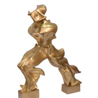 бронзовая скульптура в стиле Винтаж под заказ, Голландия, начало 21 века