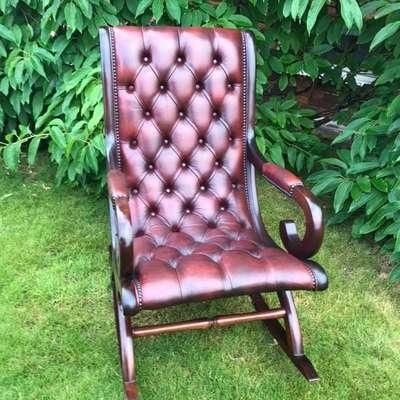 Кресло качалка в стиле Честерфилд Англия, конец 20 века