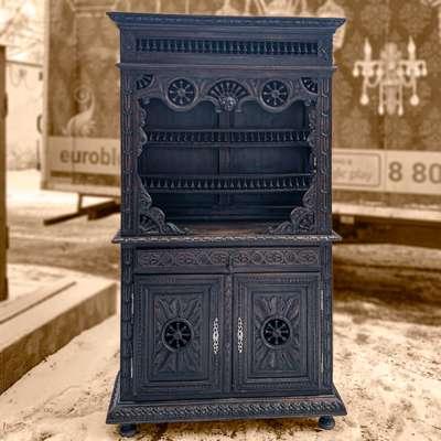 Бретонский буфет 19 век в стиле Бретонский, Бельгия, конец 19 века