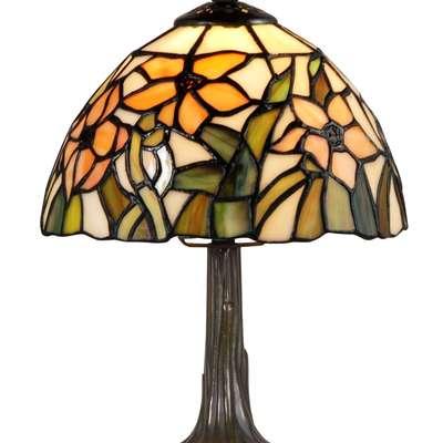 Настольная лампа в стиле Тиффани под заказ, Голландия, начало 21 века