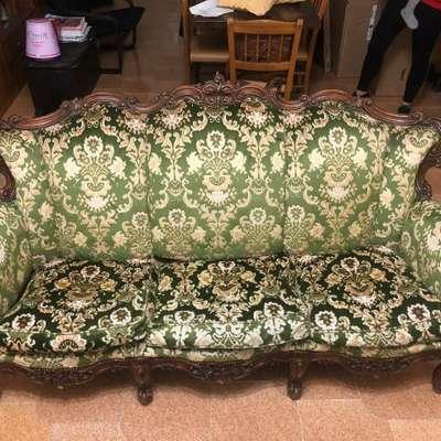 Мягкая мебель в стиле Барокко, Бельгия, середина 20 века