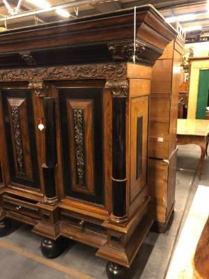 Шкаф в стиле Ренессанс под заказ, Голландия, конец 19 века