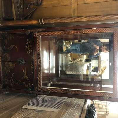Витрина в стиле Шинуазри, Бельгия, середина 20 века
