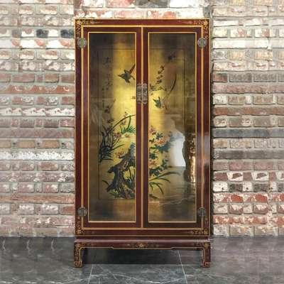 Витрина в стиле Шинуазри, Франция, середина 20 века